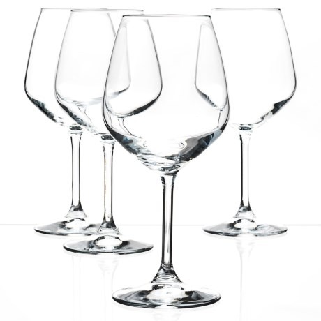 Bormioli Rocco Restaurant Red Wine Glasses - Set of 4