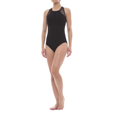 RBX Geometric One-Piece Swimsuit (For Women)