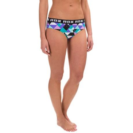 RBX Geometric Print Bikini Bottoms (For Women)