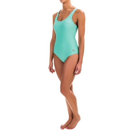 RBX Mesh One-Piece Swimsuit (For Women)
