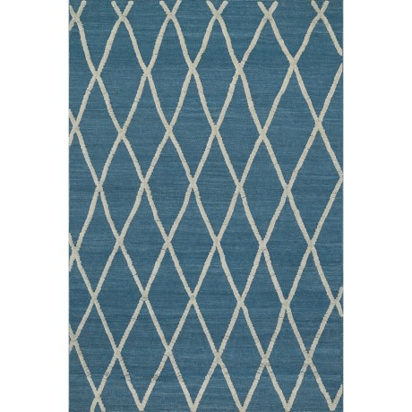 "Loloi Adler Accent Rug - 3'6""x5'6"", Hand-Woven Wool"