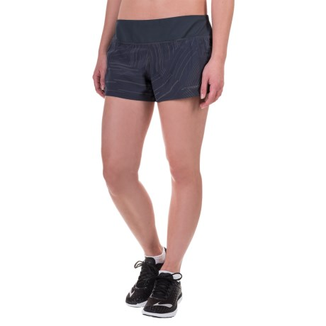 "Brooks Chase 3"" Running Shorts - Built-In Mesh Briefs (For Women)"