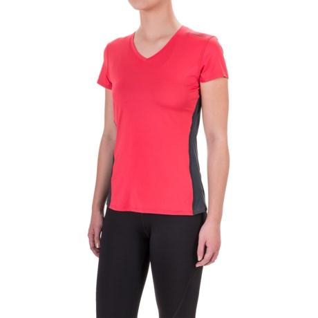 Brooks Steady Running T-Shirt - V-Neck, Short Sleeve (For Women)