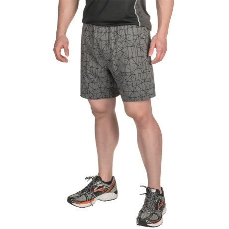"""Brooks Rush 7"""" Shorts - Built-In Brief (For Men)"""