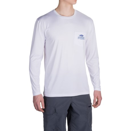 AFTCO Sailfin High-Performance Shirt - UPF 50, Long Sleeve (For Men)