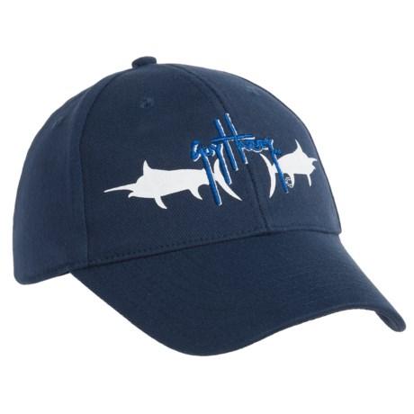 Guy Harvey Mirror Marlin Hat