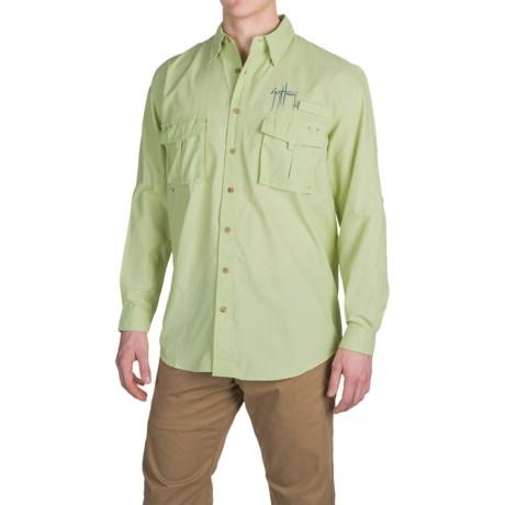 Guy Harvey Grand Slam Tech Shirt - UPF 30+, Long Sleeve (For Men)