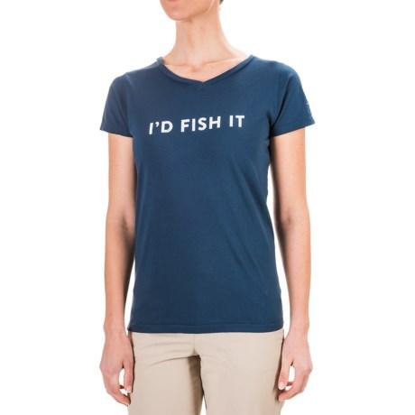 Dolly Varden I'd Fish It T-Shirt - Short Sleeve (For Women)