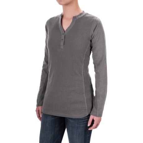 Canyon Guide Outfitters Vanna Thermal Slub Henley Shirt - V-Neck, Long Sleeve (For Women)