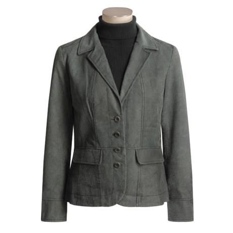 Isabella Bird Nolita Jacket - Lined Leather (For Women)