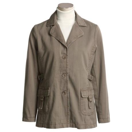 Isabella Bird Gramercy Jacket - Textured Twill (For Women)