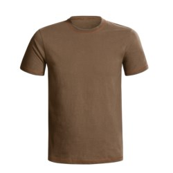 Hanes Contrast-Stitch Cotton T-Shirt - Short Sleeve (For Men and Women)