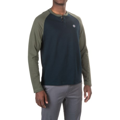 PAC Sportswear Sunday Henley Shirt - Long Sleeve (For Men)