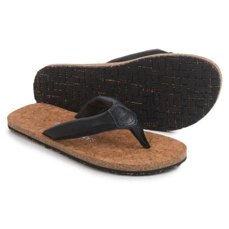 OTZ Shoes Geta Flip-Flops - Leather (For Men)