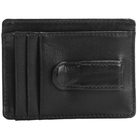 Buxton Dopp® Regiment Front Pocket Wallet with Money Clip - Leather (For Men)