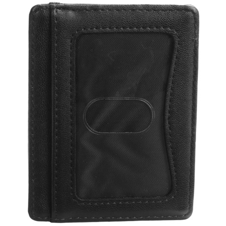 Buxton Regiment Front Pocket Getaway Wallet - Leather (For Men)