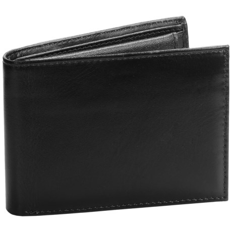 Buxton Regiment Double Credit Card Billfold - Leather (For Men)