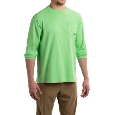 True Flies Brown Trout Head Shirt - Long Sleeve (For Men)