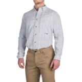 True Flies Bokeelia Check Seersucker Shirt - UPF 25+, Long Sleeve (For Men)