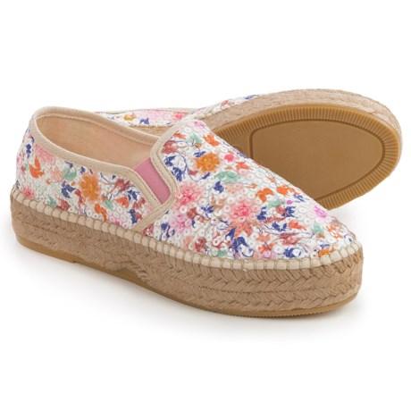 Toni Pons Fonda Platform Shoes - Slip-Ons (For Women)