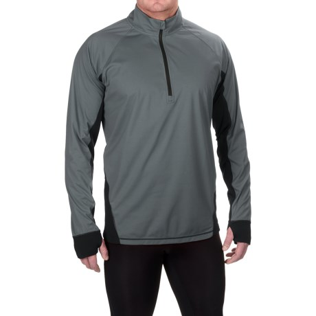 Brooks Drift Shirt - Zip Neck, Long Sleeve (For Men)