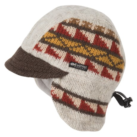 Everest Designs Ridge Runner Hat - Wool, Fleece Lined (For Men and Women)