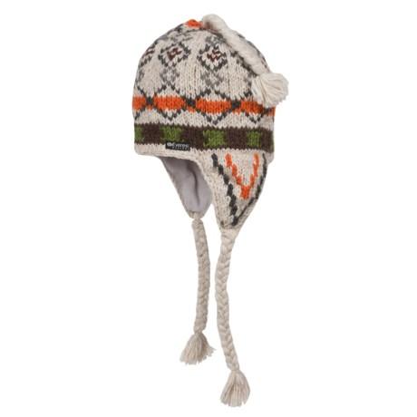Everest Designs Pocono Ear Flap Beanie - Wool, Fleece Lined (For Men and Women)