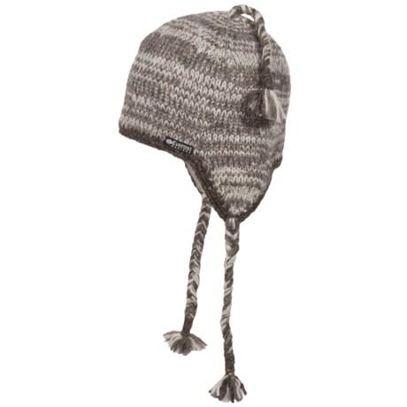 Everest Designs Pocket Ear Flap Beanie - Wool, Fleece Lined (For Men and Women)