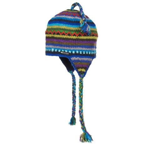Everest Designs Jumla Ear Flap Beanie - Wool (For Men and Women)
