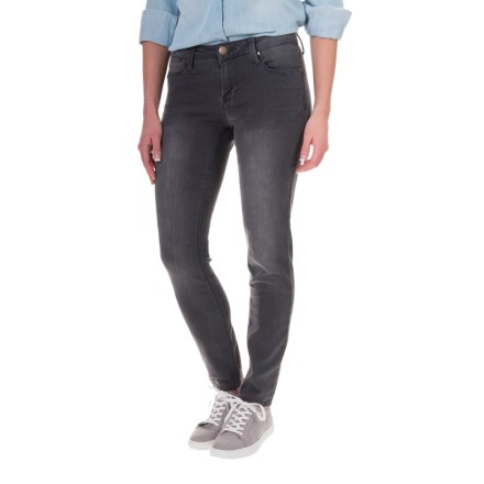 Max Jeans Butter Jeggings - Mid Rise (For Women) in Charcoal Wash - Closeouts