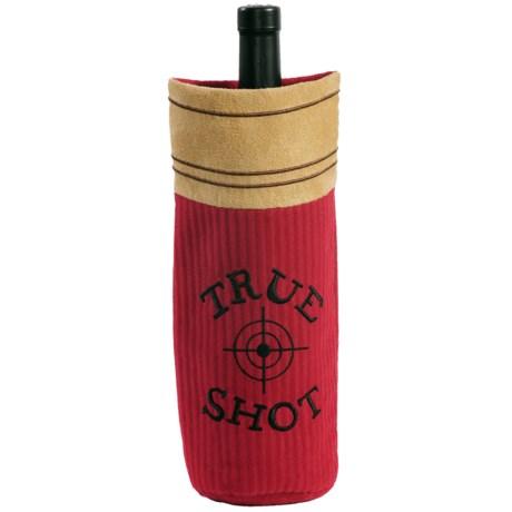 Outside Inside Shot Shell Wine Bottle Cover
