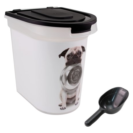 Advantus Hungry Dog Food Storage Bin - 26 lb. Capacity