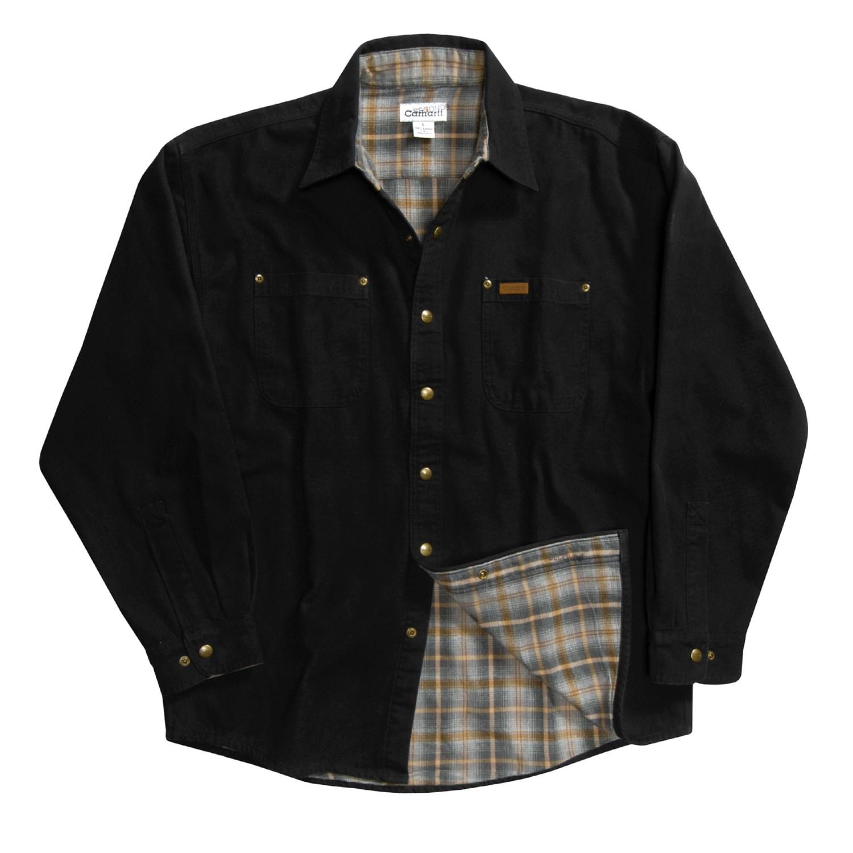 Carhartt Canvas Shirt Jacket For Men 2122x