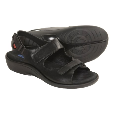 Wolky Rodentia Leather Sandals (For Women)