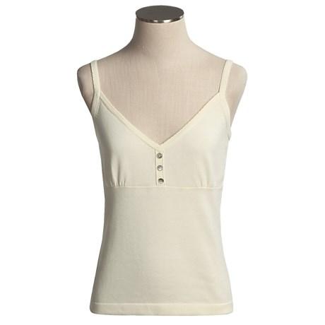 Nomadic Traders Cotton-Knit Camisole - V-Neck (For Women)