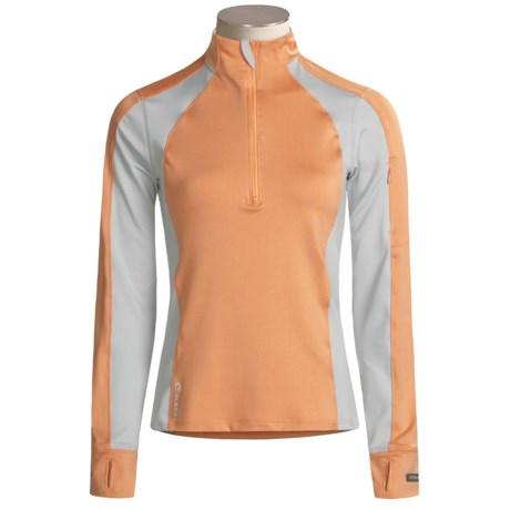 SportHill Nirvana Zip Shirt - Long Sleeve (For Women)
