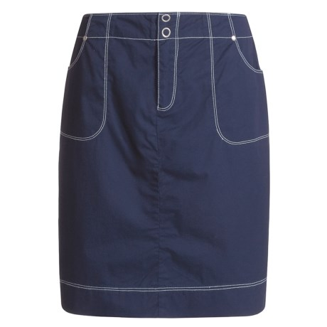 Nomadic Traders Short Skirt - Cotton Twill (For Women)