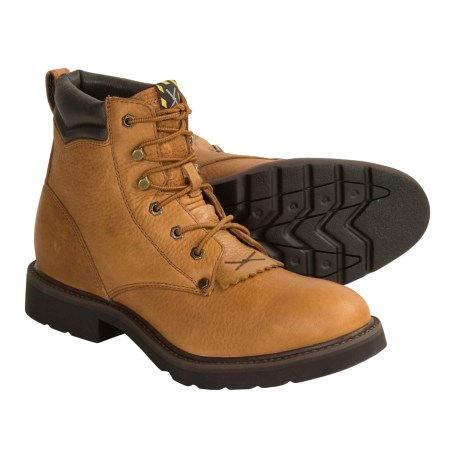 Twisted X Boots Lace-Up Work Boots (For Women