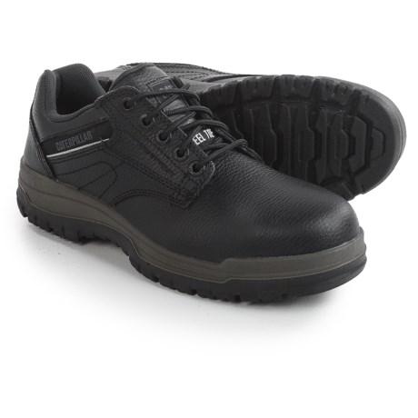 Caterpillar Dimen Work Shoes - Steel Toe, Leather (For Men)