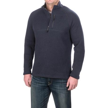 SmartWool Echo Lake Fleece Sweater - Merino Wool, Zip Neck (For Men)