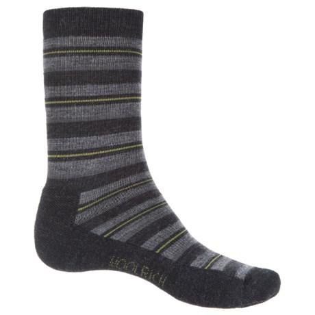 Woolrich Novelty Stripe Scene Socks - Merino Wool, Crew (For Men)