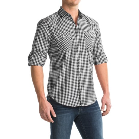 Bruno Gingham Button-Up Shirt - Long Sleeve (For Men)