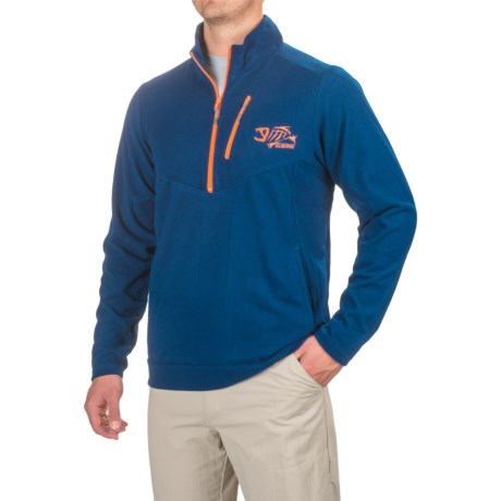 G. Loomis Stormcast Fleece Jacket - Zip Neck (For Men and Big Men)