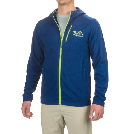 G. Loomis Stormcast Fleece Hoodie - Full Zip (For Men and Big Men)