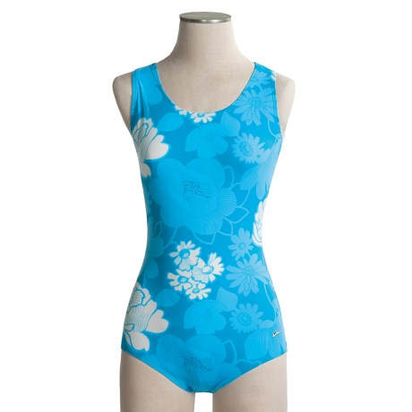 Dolfin Ocean Aquashape Conservative Swimsuit - Chloroban, UPF 50 (For Women)