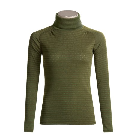 ExOfficio ExO Dri Pointelle Turtleneck - UPF 30+, Long Sleeve (For Women)