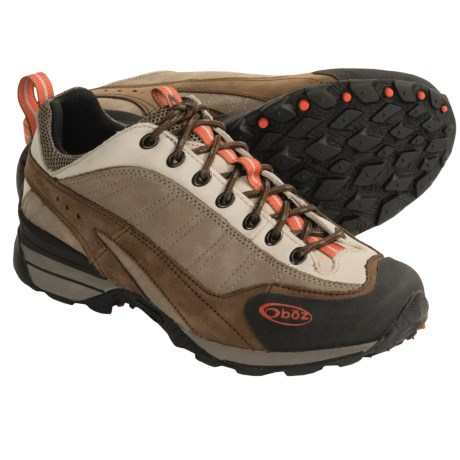 Oboz Footwear Teton Trail Shoes - Nubuck (For Women)