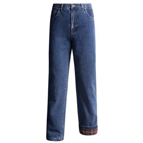 Moose Creek Work Jeans - Flannel-Lined (For Men)