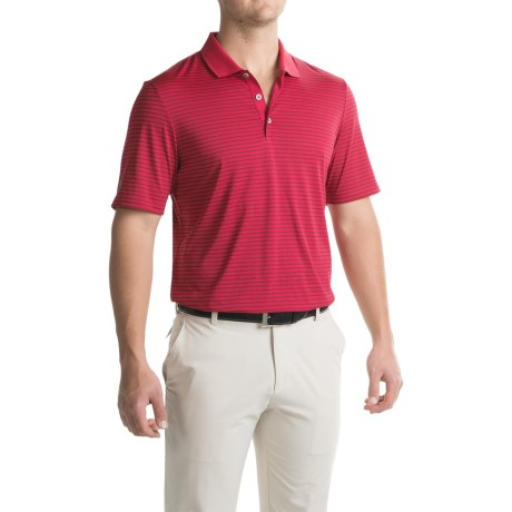 adidas golf ClimaCool® 2-Color Pencil Stripe Polo Shirt - Short Sleeve (For Men)