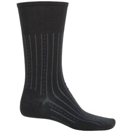SmartWool Lifestyle Inline Non-Binding Socks - Merino Wool, Crew (For Men)